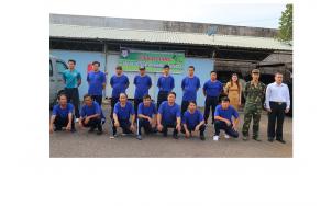 Công ty cổ phần dịch vụ bảo vệ chuyên nghiệp Tín Nghĩa tổ chức lớp tập huấn võ thuật đợt 2 năm 2017