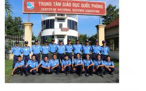 Công ty cổ phần dịch vụ bảo vệ chuyên nghiệp Tín Nghĩa phối hợp mở lớp tập huấn nghiệp vụ năm 2017